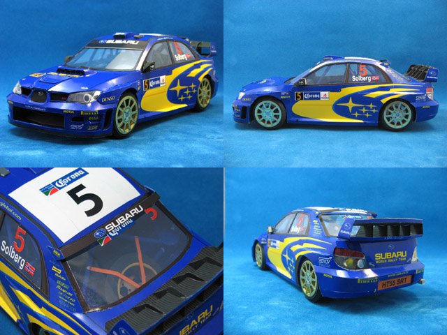 Papercrafts autos de rally WRC