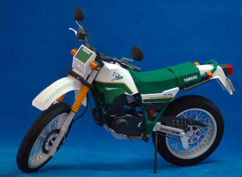 Papercraft - Yamaha Serow 225.